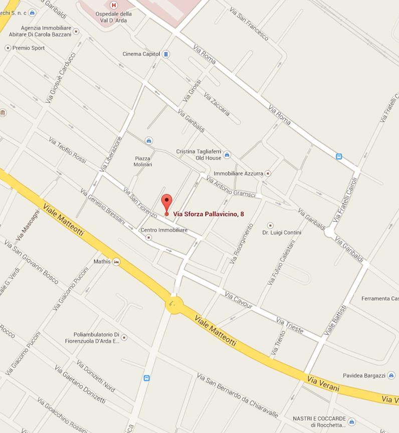 Maps Via Pallavicino,8